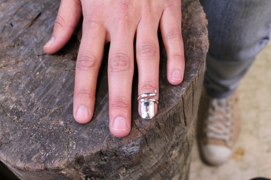 Fingernail Accessory Prototype by Benjamin Black Goldsmiths