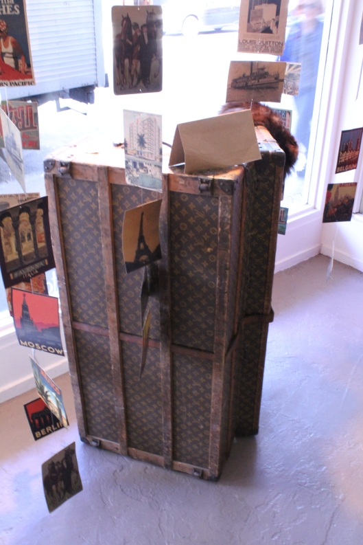 Authentic Louis Vuitton 1920's Steam Trunk - Hunters & Collectors, Wellington (NZ)