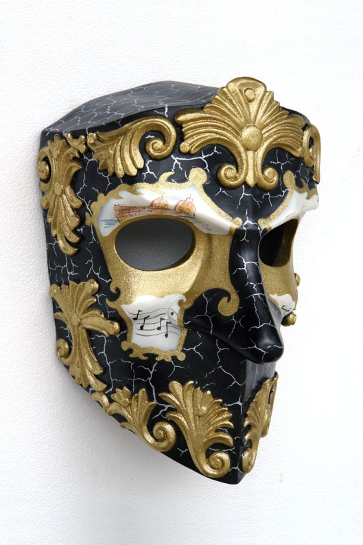 Baroque inspired mask - the next project for Benjamin Black Goldsmiths?
