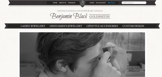Benjamin Black Goldsmiths Website