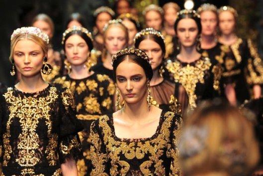 Dolce & Gabbana Fall/Winter Collection 2012