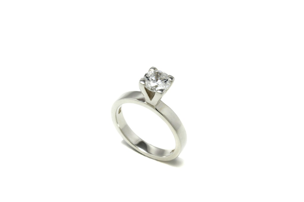 Classic Claw Set engagement ring by Benjamin Black Goldsmiths