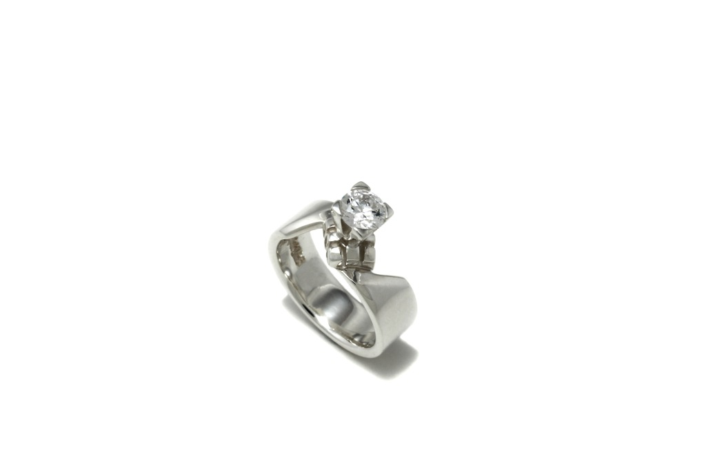 Wonderland Engagement Ring, by Benjamin Black Goldsmiths