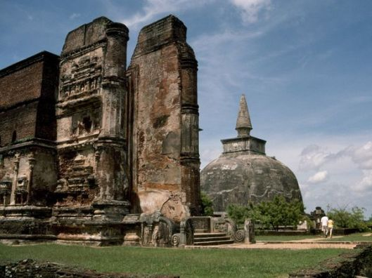 Buddhist Ruins in Sri Lanka, Gemstone Feature, The Ceylon Sapphire, Benjamin Black Goldsmiths