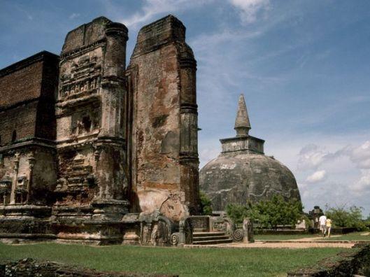 Buddhist Ruins in Sri Lanka, Gemstone Feature, The Ceylon Sapphire, Benjamin Black Goldsmiths