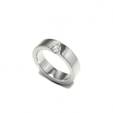 The Matterhorn Ring, Men's Wedding Band, by Benjamin Black Goldsmiths