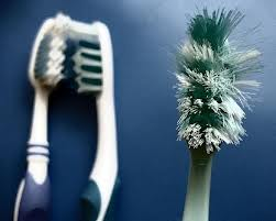 Old toothbrushes are great for cleaning jeweller