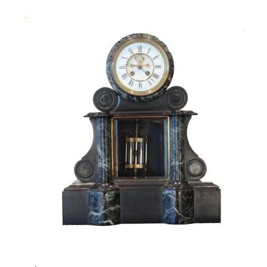 French Antique Clock - Benjamin Black Goldsmiths