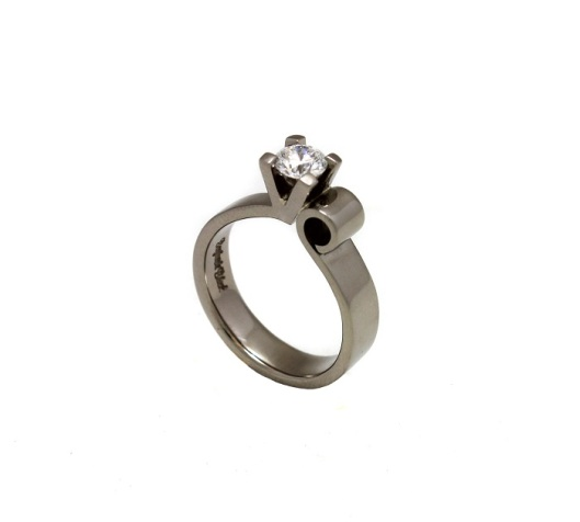 Decadence Diamond Ring by Benjamin Black Goldsmiths.