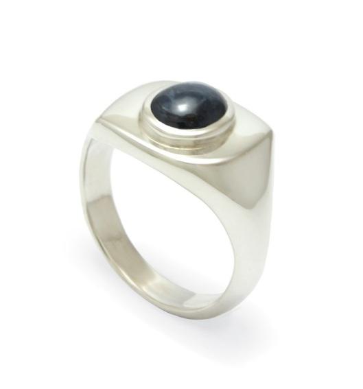 Greenstone Signet Ring