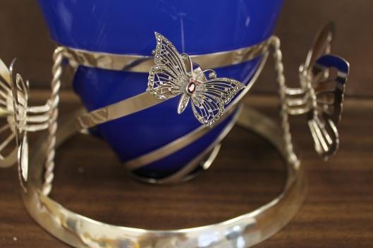 Custom Urn Stand by Benjamin Black Goldsmiths