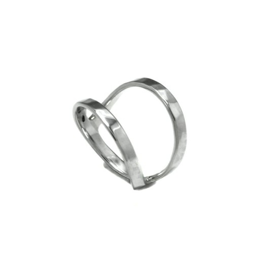 Double Midi Ring by Benjamin Black Goldsmiths